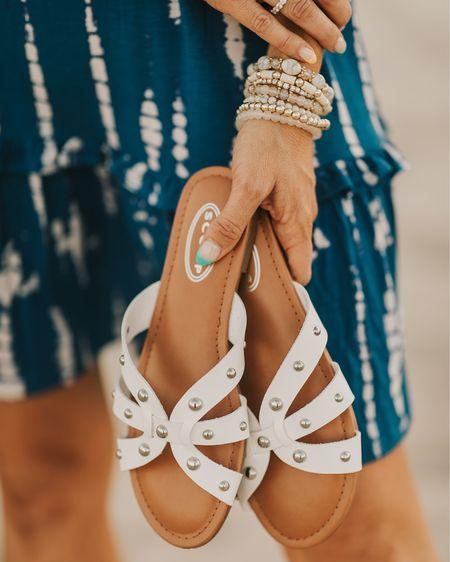 Walmart sandals on repeat! ! I wear non stop  http://liketk.it/3hiXJ #liketkit @liketoknow.it #LTKunder100 #LTKunder50 #LTKsalealert