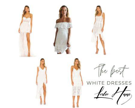 The best white dresses #whitedress #summerdress #bride #bohodress #bohowedding #engagementdress http://liketk.it/3fz2u #liketkit @liketoknow.it