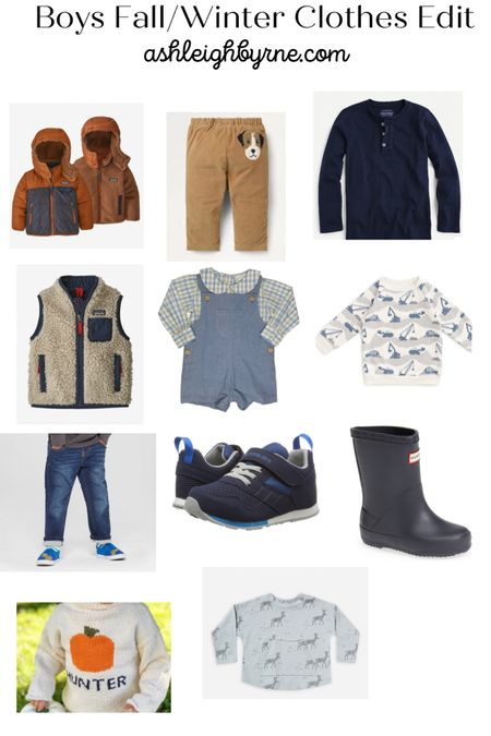 Boys Fall/Winter Clothes Edit http://liketk.it/2ZucX #liketkit #LTKkids #LTKsalealert @liketoknow.it.family @liketoknow.it Follow me on the LIKEtoKNOW.it shopping app to get the product details for this look and others