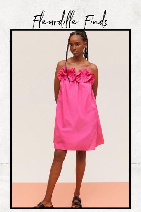 The cutest ruffle pink dress for summer! @liketoknow.it http://liketk.it/3gOVU #liketkit #LTKunder100 #LTKunder50 #LTKstyletip