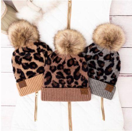 Leopard beanie   #LTKHoliday #LTKstyletip #LTKSeasonal