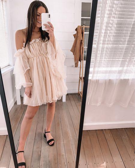 Amazon dress - wearing a S  Block heels - true to size  Amazon bridal shower dress amazon baby shower dress amazon maternity dress amazon outfits amazon fashion finds amazon spring dresses #LTKwedding #LTKunder50 http://liketk.it/3aBOu #liketkit @liketoknow.it #LTKSeasonal