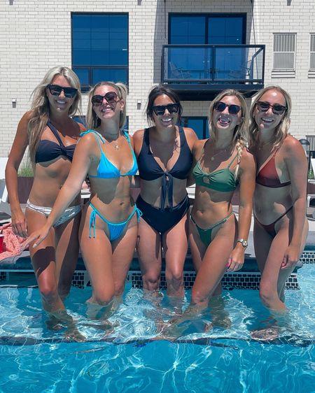 Today's high waisted bikini swim swimwear In my usual small  http://liketk.it/3hVbJ 1  #liketkit @liketoknow.it #LTKswim #LTKstyletip #LTKcurves