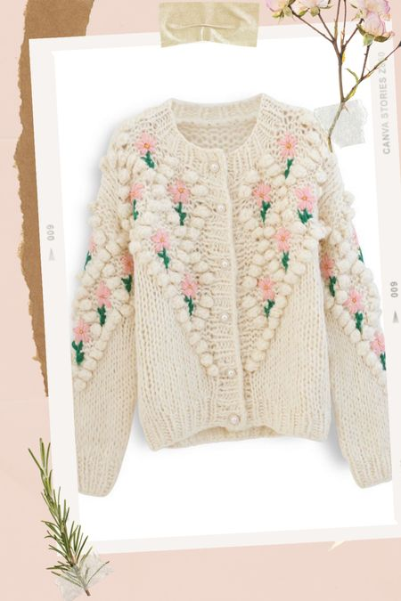 Look no more! The prettiest and coziest cardigans are over at Chicwish😍 #sweaterweather #sweater #jumper #cardigan #floral #knit #handknit #embroidered #femine #girlystyle   #LTKsalealert #LTKunder100 #LTKGiftGuide