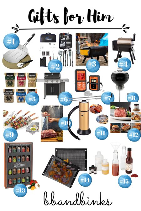 The Grilling guy would be thrilled with all these gifts!  #LTKmens #LTKGiftGuide #LTKHoliday