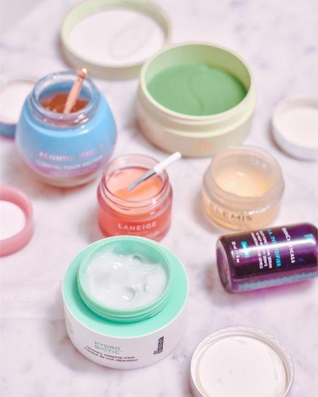 A few of my favorite products to slather on before bed. ✨   Elemis cleansing balm Skinceuticals HA Intensifier Dr Brandt Sleeping Mask  Bloom Effects moisturizer Pixi Eye Gels Laneige Lip Mask  http://liketk.it/37ejq #liketkit @liketoknow.it #LTKbeauty #LTKunder100 #LTKunder50