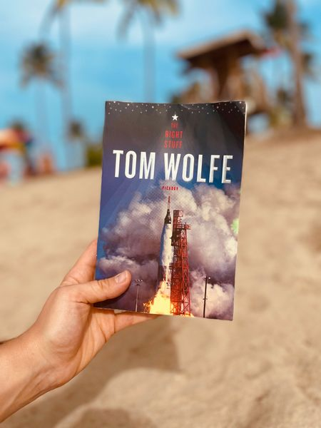 My space themed summer reads, perfect for the beach.