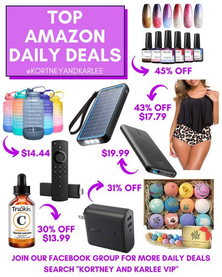 Amazon Deal of the Day Favorites!!!  Amazon daily deal   amazon deal   amazon beauty   amazon finds   amazon favorites   amazon lightening deal   Kortney and Karlee   #kortneyandkarlee #LTKunder50 #LTKunder100 #LTKsalealert #LTKstyletip #LTKSeasonal #LTKbeauty #LTKhome #LTKfit  @liketoknow.it #liketkit http://liketk.it/3i0Od