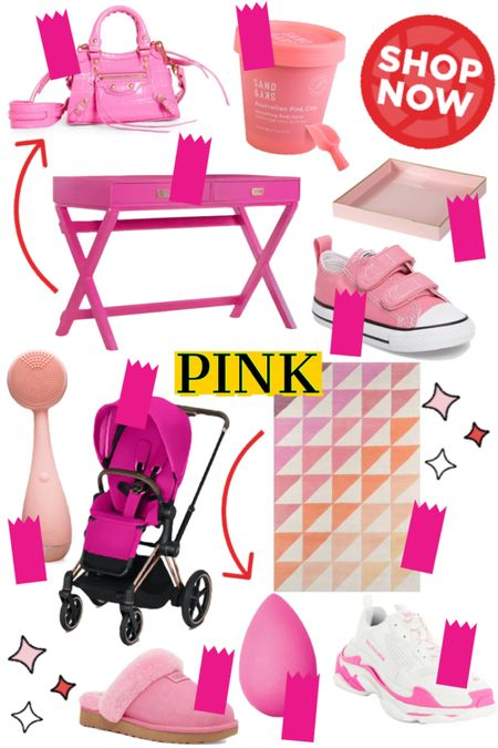 All things pink: baby, office and home decor, style and beauty linked.   #LTKbeauty #LTKhome #LTKbaby