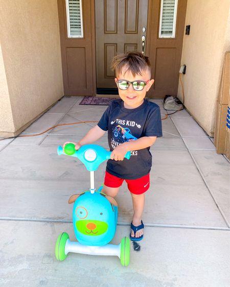 Toddler boy & skip hop scooter #ltksummer #LTKkids #LTKfamily http://liketk.it/3gYnQ #liketkit @liketoknow.it