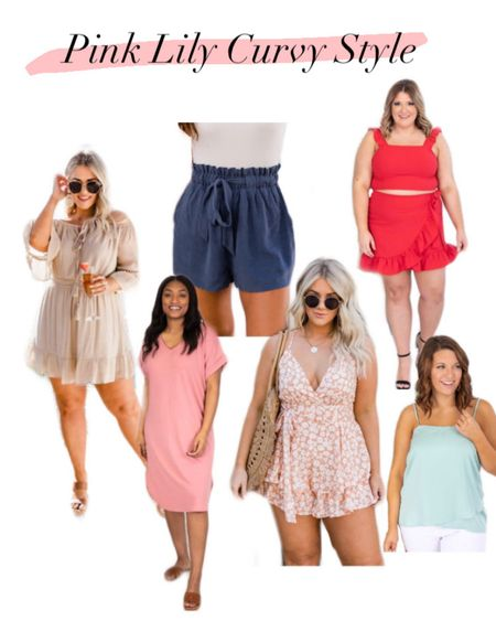 My favorite curvy styles from Pink Lily! These outfits do not last long! Get them before they run out of stock! #LTKunder100 #LTKcurves http://liketk.it/3e4qP #liketkit @liketoknow.it