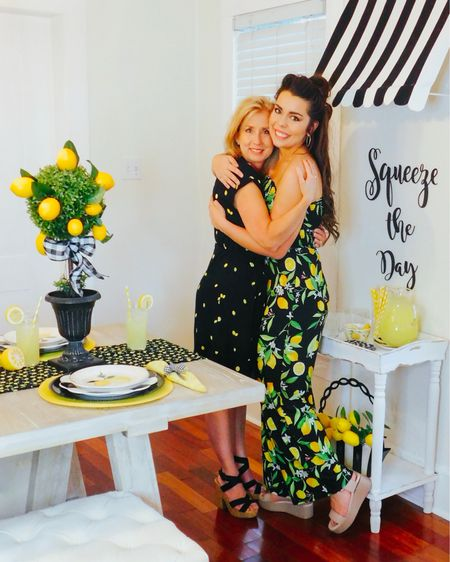 And we're back!! Ready to SQUEEZE THE DAY!☺️🍋💕 thank y'all for allowing us to take a little break! It was much needed!! Get ready for the CUTEST lemon party EVER!! Moms dress is still FULLY STOCKED🍋💕 unfortunately, my jumpsuit is sold out BUT I found a few super cute alternatives!  All other outfit details (like our shoes 👠😍) are also linked down below! http://liketk.it/2BkGB #liketkit @liketoknow.it  . . . #houston #houstonblogger #abmlifeiscolorful #pursuepretty #partyblogger #partyinspo #partyblogger #paperflowers #partystylist #partydesigner #partydecor #lemondrop #lemon #lemonade #springparty #partydecorations