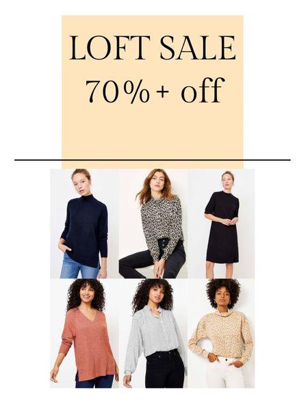 LOFT SALE! Additional 70% already reduced sale, and and additional 25% off purchases over $125 🤯  #LTKstyletip #LTKworkwear #LTKsalealert