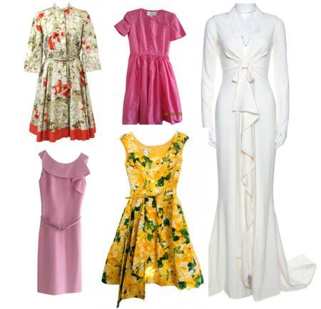Second hand Oscar de la Renta dresses from Vestiaire Collective