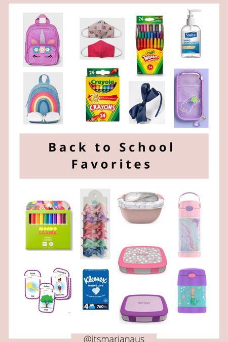 Back to school favorites.📚✏️  #LTKbaby #LTKunder50 #LTKfamily