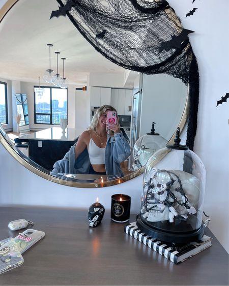 Selfie Halloween decor free people jacket phone case spooky decor fall home decor    #LTKSeasonal #LTKstyletip #LTKunder50