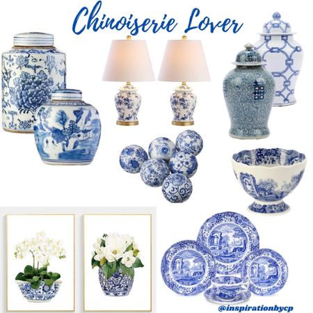 Chinoiserie a classic and timeless look!!   #LTKeurope #LTKhome #LTKstyletip