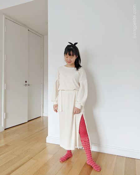 One and done. Comfortable long sleeves lounge dresses http://liketk.it/34vtI @liketoknow.it #liketkit #LTKsalealert #LTKstyletip #LTKunder100 #petitestyle