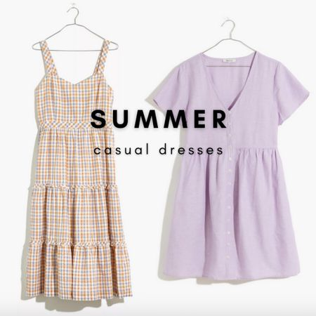 Add some new summer midi and mini dresses to your wardrobe!   Get $25 off orders of $125 with code LTKDAY at Madewell this weekend only.   #LTKsalealert #LTKunder100 #LTKDay