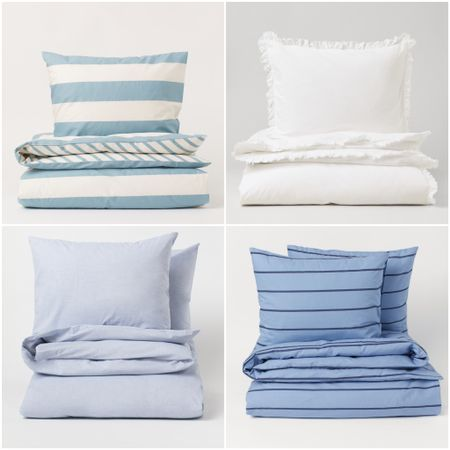 Love new sheets! These sets are great and the right price! #newbedding #duvet #pillowcases #bedlinens #homedecor    #LTKunder100 #LTKfamily #LTKhome