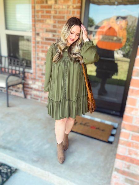 Dress size large tts Boots tts  #LTKcurves #LTKstyletip #LTKunder50
