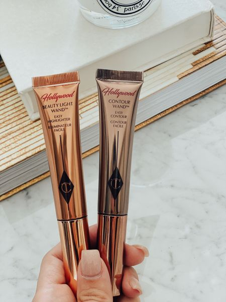Back in stock!!! Charlotte tilbury contour wand and highlight wand. Favorite beauty products.   #LTKbeauty #LTKunder50
