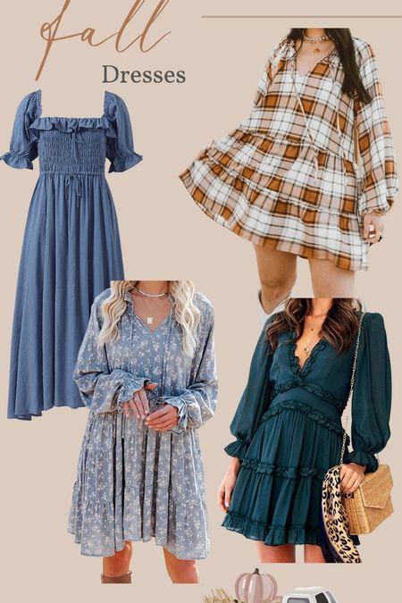 Fall dresses 😍   #LTKHoliday #LTKSeasonal #LTKstyletip