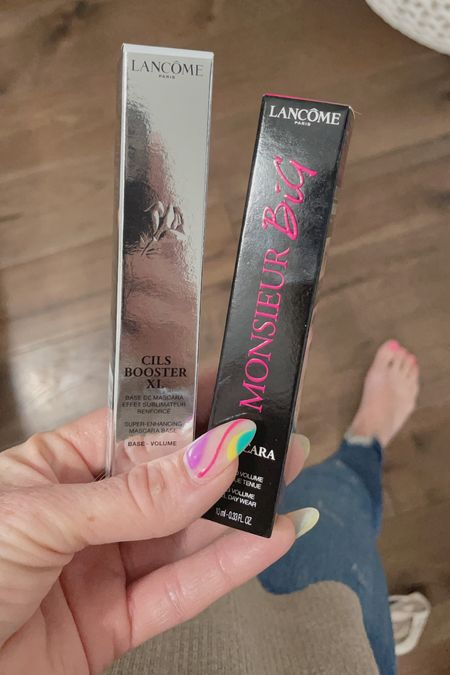 I honestly do not know much about makeup, I was always a quick eyeshadow and any mascara girl until I found these two products snd now I can live without them!  The Lancôme Cils Booster XL has been a game changer for me!!  I apply before my favorite Lancôme Monsieur Big Mascara and it helps naturally lengthen my lashes!!  Check out these products and my other favorites that I stocked up in last night at Ulta in my @liketoknow.it.   #LTKunder100 #LTKstyletip #LTKbeauty