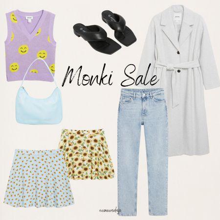 Monki Sale 💜 #monki #sale #summersale #pinktop #purpletop #monkishop #jeans #bluejeans  #LTKsalealert #LTKstyletip #LTKeurope