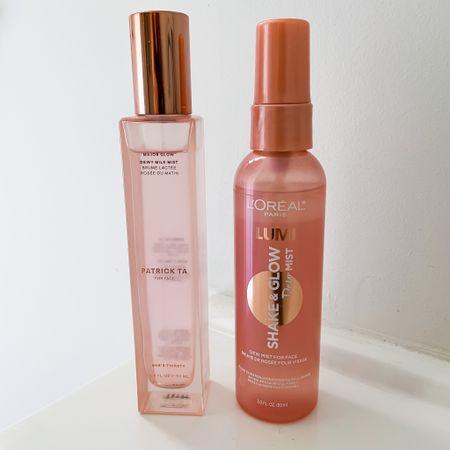 You be the judge!   I tested out these two glowy, dewy mists for that perfect summery skin look.    http://liketk.it/3fxim #liketkit @liketoknow.it #LTKbeauty #LTKstyletip #LTKsalealert