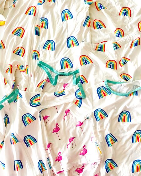 I just got in my order of new pajamas for the kids… Kyte baby has the softest kids pjs ever! I ordered some pajamas for my baby boy and my toddler girl. I got these fun rainbow prints and some flamingo pajamas.     #LTKkids #LTKfamily #LTKbaby