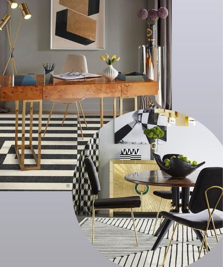 NEW Ruggable designs by Jonathan Adler. These are both on my list for two different rooms, but you can also get runners and more cushioned padding! 🙌  #LTKstyletip #LTKhome