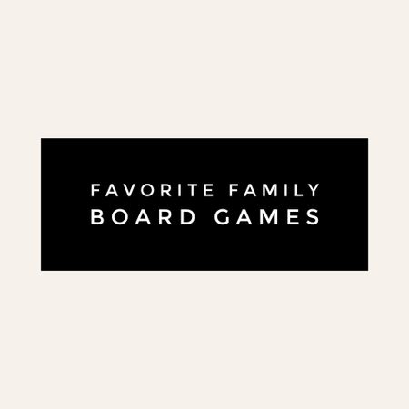 We love board games!  This weekend at Target you can buy 2 games, get one free!  Santa may have stocked up this weekend 😉  #LTKfamily #LTKFall #LTKgiftspo