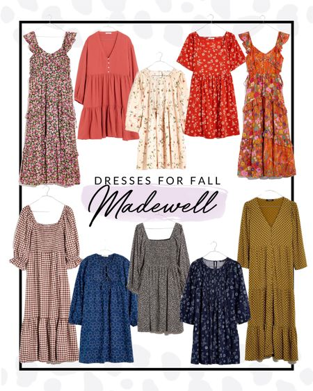 Madewell has some incredibly beautiful dresses that are perfect for transitioning into fall!   #LTKstyletip #LTKSeasonal #LTKfit