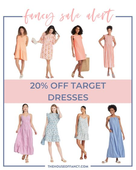 Last day to grab target dresses for 20% off!! Rounding up a few of my favorites included in the sale.   #LTKunder50 #LTKsalealert #LTKSeasonal