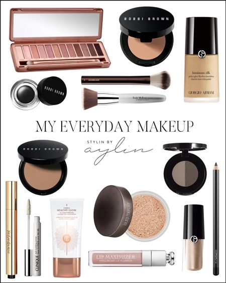 My everyday makeup, everyday favorites, makeup favorites, make up essentials, StylinByAylin   #LTKunder50 #LTKbeauty #LTKunder100