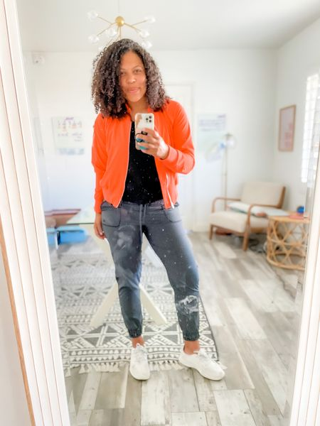 The only joggers you need. Bomber is the perfect drop your kids off at school and go look!   This fall is ours mamas! #sustainablelooks #sustainablemom #LTKfamily #LTKstyletip #LTKfit