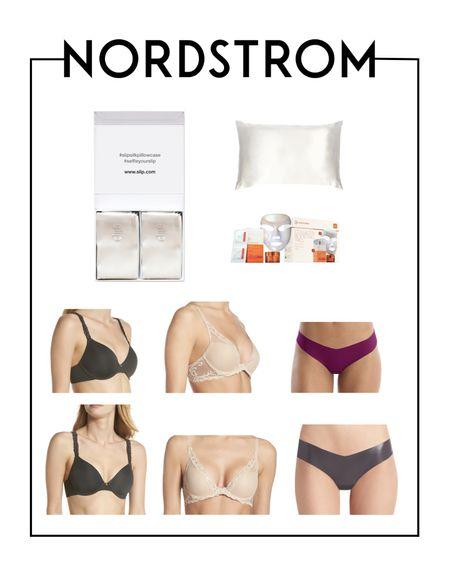 My favorite Nordstrom self-care products! Silk pillows, commando underwear, and the best natori bras!   #LTKstyletip #LTKsalealert #LTKunder100