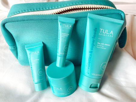 My go-to travel skincare routine! #TULA #TulaPartner   #LTKstyletip #LTKbeauty #LTKsalealert
