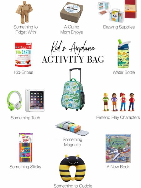 http://liketk.it/2Cj6K #liketkit @liketoknow.it Flying with Kids: What to Pack in the Airplane Bag