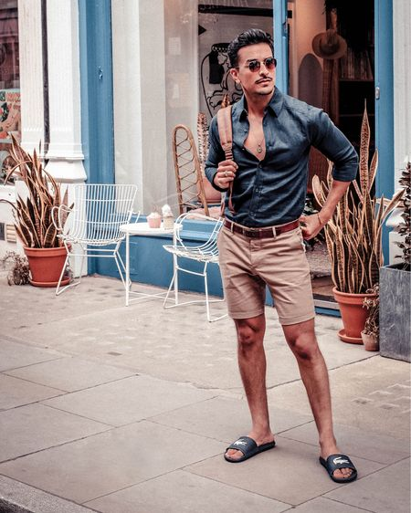 Summer casual combo! http://liketk.it/2CkrA #liketkit @liketoknow.it #LTKeurope #LTKmens #LTKstyletip #LTKtravel #LTKunder50 #LTKunder100 @liketoknow.it.europe Shop your screenshot of this pic with the LIKEtoKNOW.it app