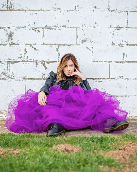 """http://liketk.it/3c82p Fun and affordable tulle skirt for photo shoots or special occasions. This is the color """"Purple99"""". #liketkit @liketoknow.it #LTKunder50 #LTKshoecrush #LTKstyletip"""