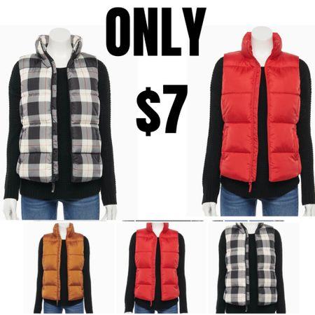 Cute vests and jackets on sale! Under $10  http://liketk.it/3idGR #liketkit @liketoknow.it #LTKsalealert #LTKunder50 #LTKunder100
