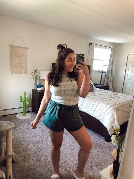 My fav aerie sweat shorts! I'm wearing a L.   #LTKunder50 #LTKunder100 #LTKcurves