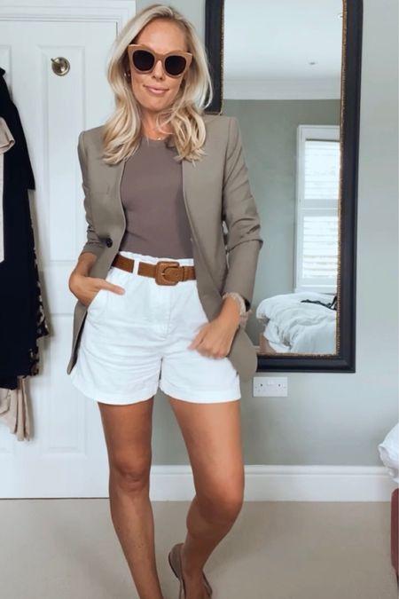 One pair of shorts - 4 outfits   #LTKstyletip #LTKunder50 #LTKeurope