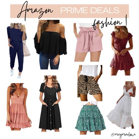 Women's shorts, rompers, dresses and more on sale for Amazon prime day deals   #LTKunder100 #LTKunder50 #LTKsalealert