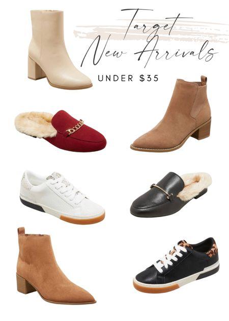 Target fall shoes Target new arrivals  Booties   #LTKsalealert #LTKshoecrush #LTKstyletip