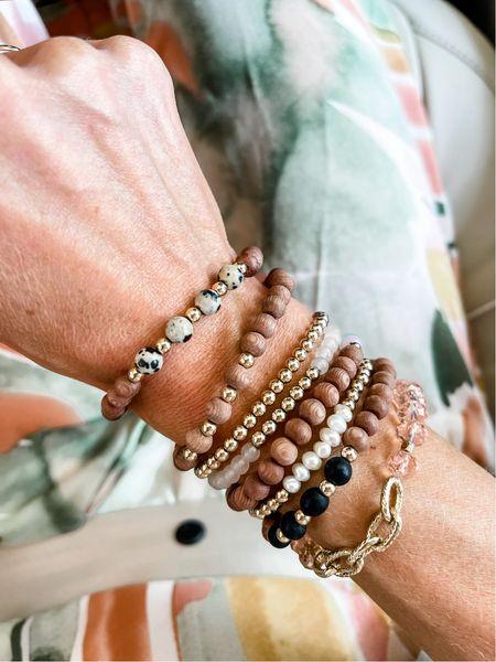 My everyday bracelet stack   #LTKunder50 #LTKunder100 #LTKstyletip