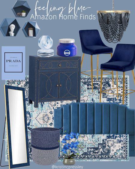 Feeling blue-Amazon home finds   #LTKstyletip #LTKhome #LTKGiftGuide