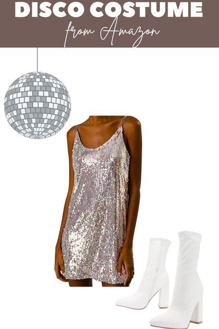Disco costume from Amazon